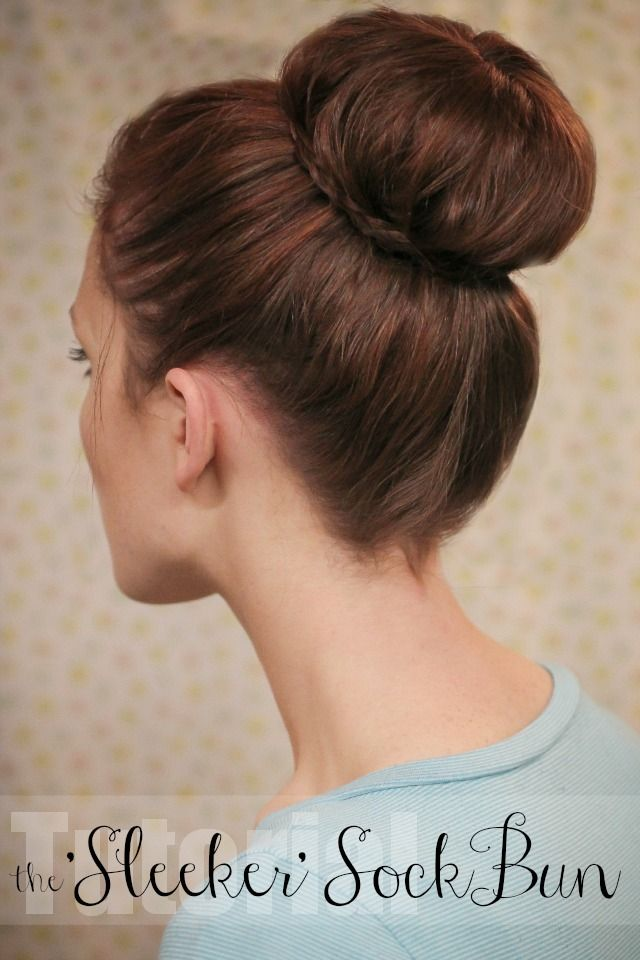 sleek buns