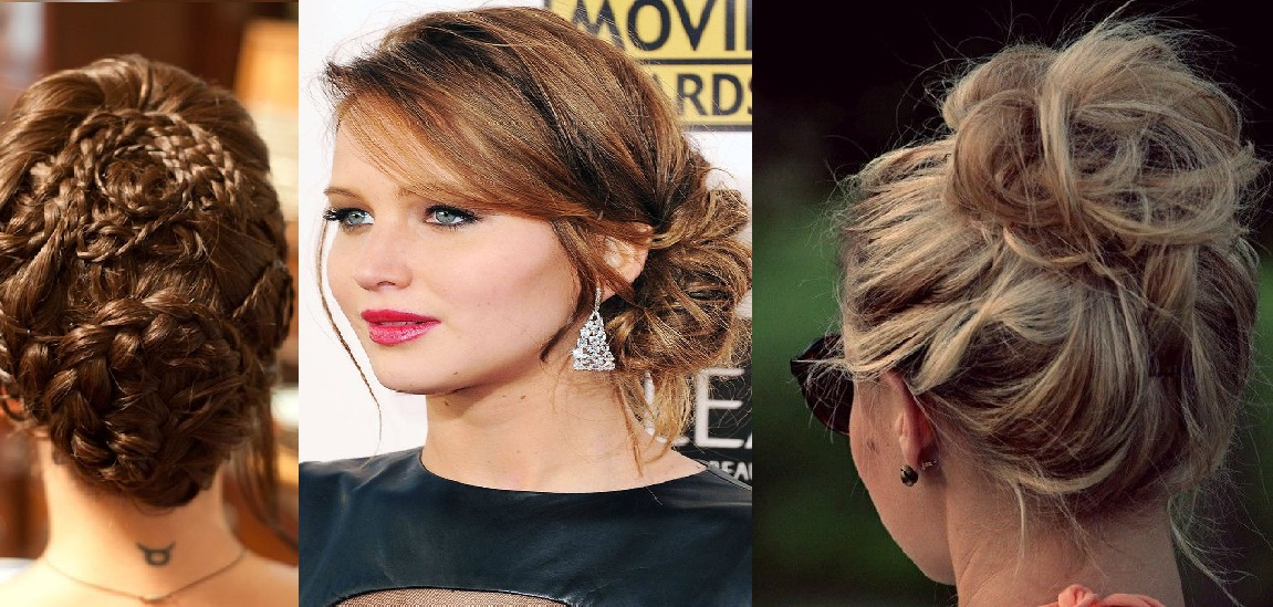 top 10 bun hairstyles 2015