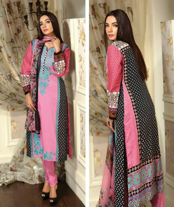 Ayesha chottani summer eid wear collection 2015 by Shariq textiles (16)
