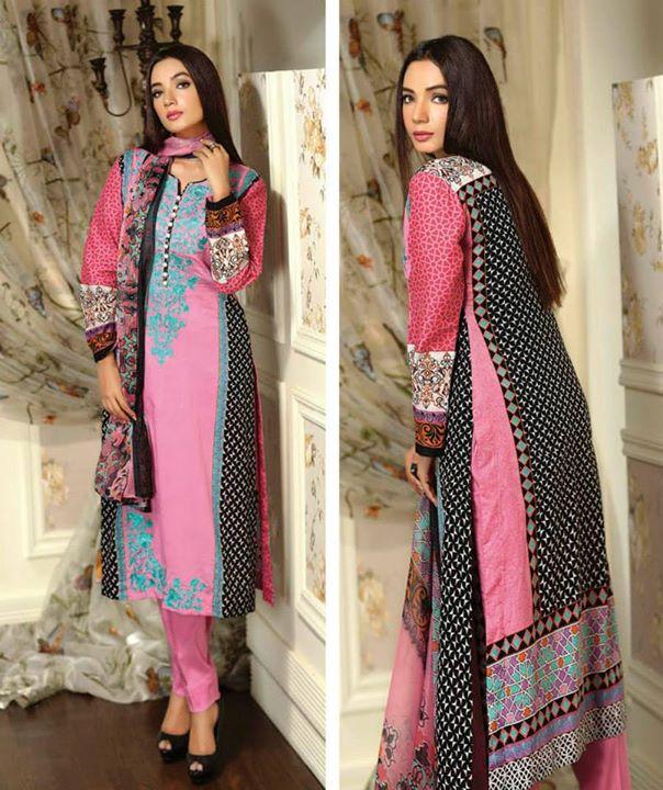 Ayesha chottani summer eid wear collection 2015 by Shariq textiles (16)