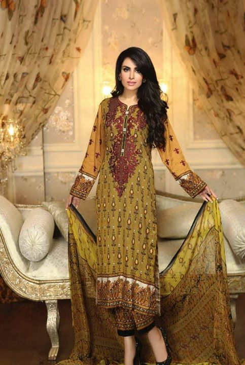 Ayesha chottani summer eid wear collection 2015 by Shariq textiles (17)