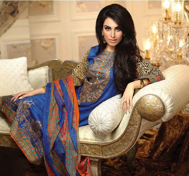 Ayesha chottani summer eid wear collection 2015 by Shariq textiles (19)