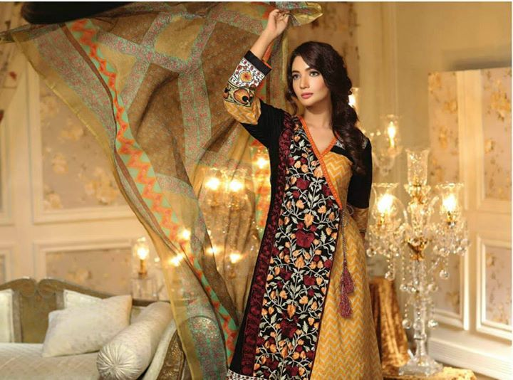Ayesha chottani summer eid wear collection 2015 by Shariq textiles (20)
