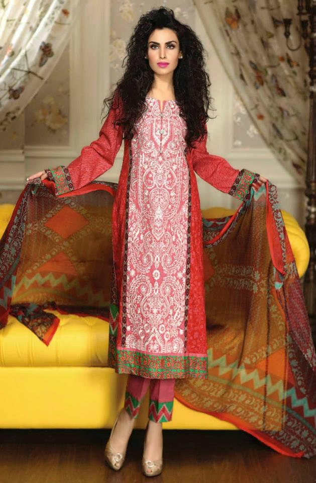 Ayesha chottani summer eid wear collection 2015 by Shariq textiles (21)