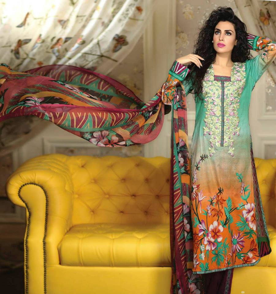 Ayesha chottani summer eid wear collection 2015 by Shariq textiles (22)