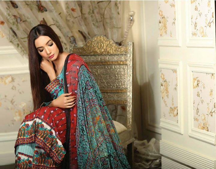 Ayesha chottani summer eid wear collection 2015 by Shariq textiles (23)