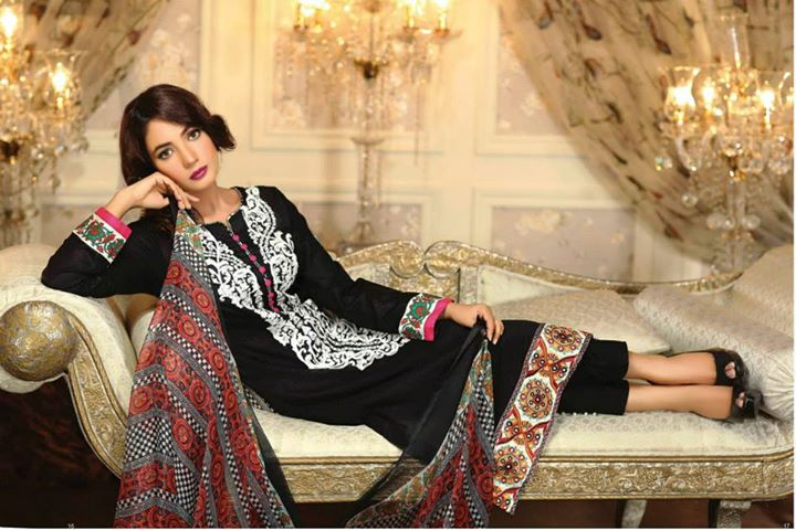 Ayesha chottani summer eid wear collection 2015 by Shariq textiles (25)