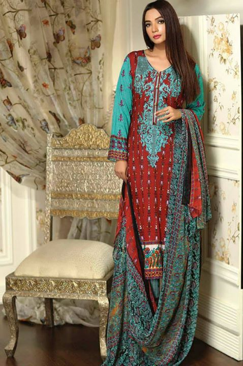 Ayesha chottani summer eid wear collection 2015 by Shariq textiles (28)