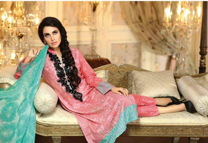 Ayesha chottani summer eid wear collection 2015 by Shariq textiles (30)