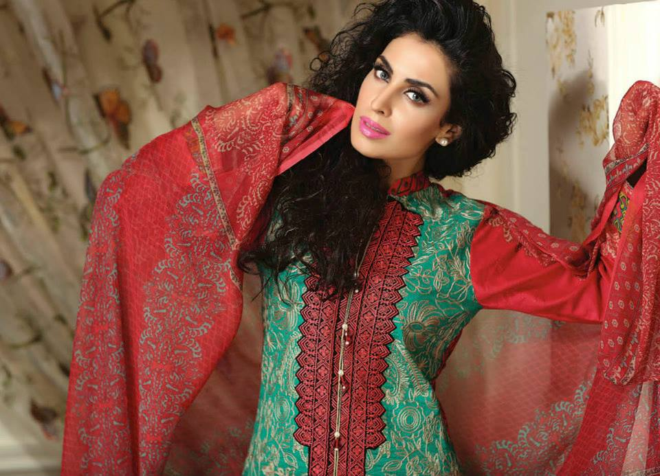 Ayesha chottani summer eid wear collection 2015 by Shariq textiles (33)