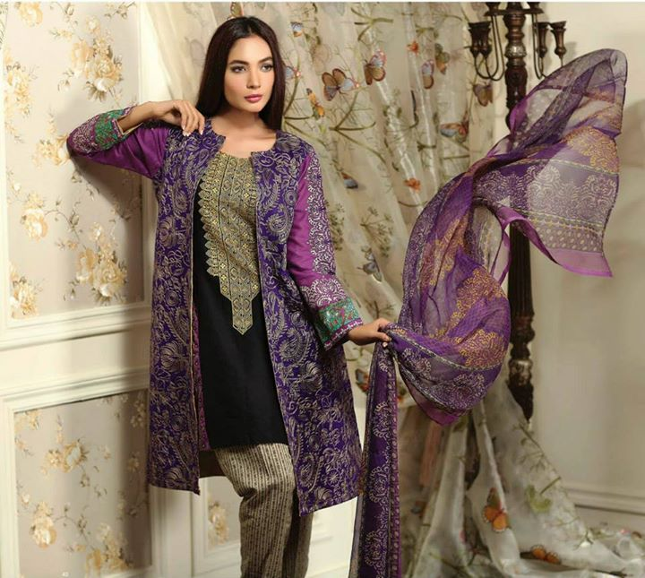 Ayesha chottani summer eid wear collection 2015 by Shariq textiles (34)