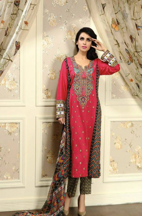 Ayesha chottani summer eid wear collection 2015 by Shariq textiles (35)