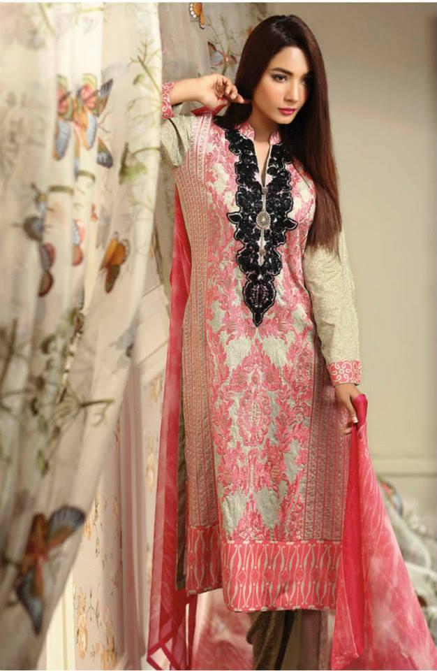 Ayesha chottani summer eid wear collection 2015 by Shariq textiles (4)