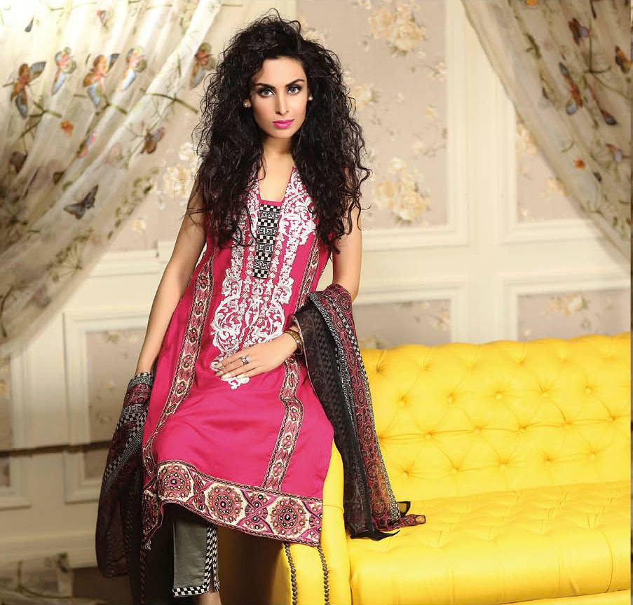 Ayesha chottani summer eid wear collection 2015 by Shariq textiles (7)