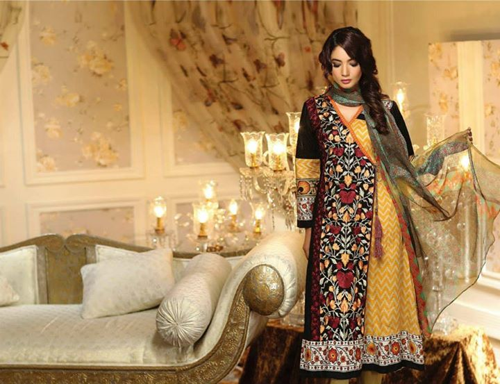 Ayesha chottani summer eid wear collection 2015 by Shariq textiles (8)