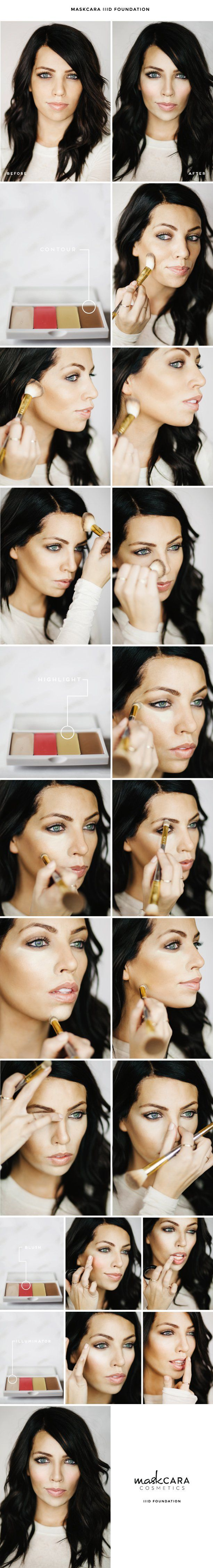 How-To-Apply-Base-Makeup-Tutorial (7)