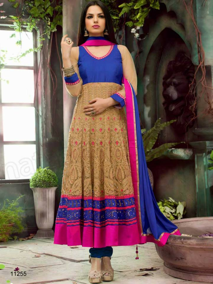 Indian fashion Latest Anarkali Suits Collection 2015 by Natasha Couture   (1) - Copy
