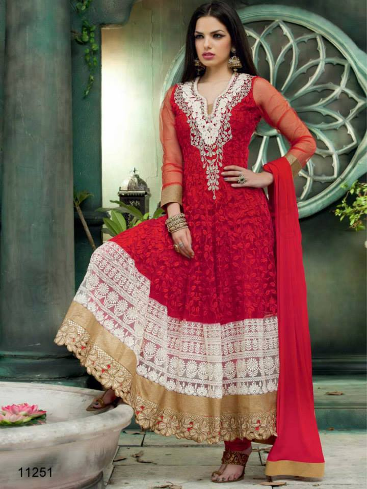 Indian fashion Latest Anarkali Suits Collection 2015 by Natasha Couture (11) - Copy