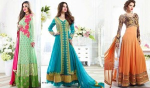 Indian Fashion Latest Anarkali Suits Collection by Natasha Couture