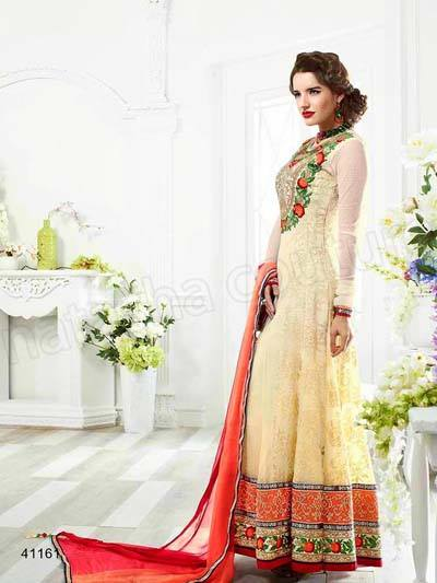 Indian fashion Latest Anarkali Suits Collection 2015 by Natasha Couture   (2) - Copy