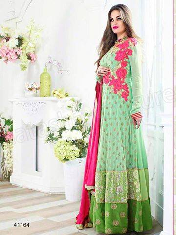 Indian fashion Latest Anarkali Suits Collection 2015 by Natasha Couture (4) - Copy