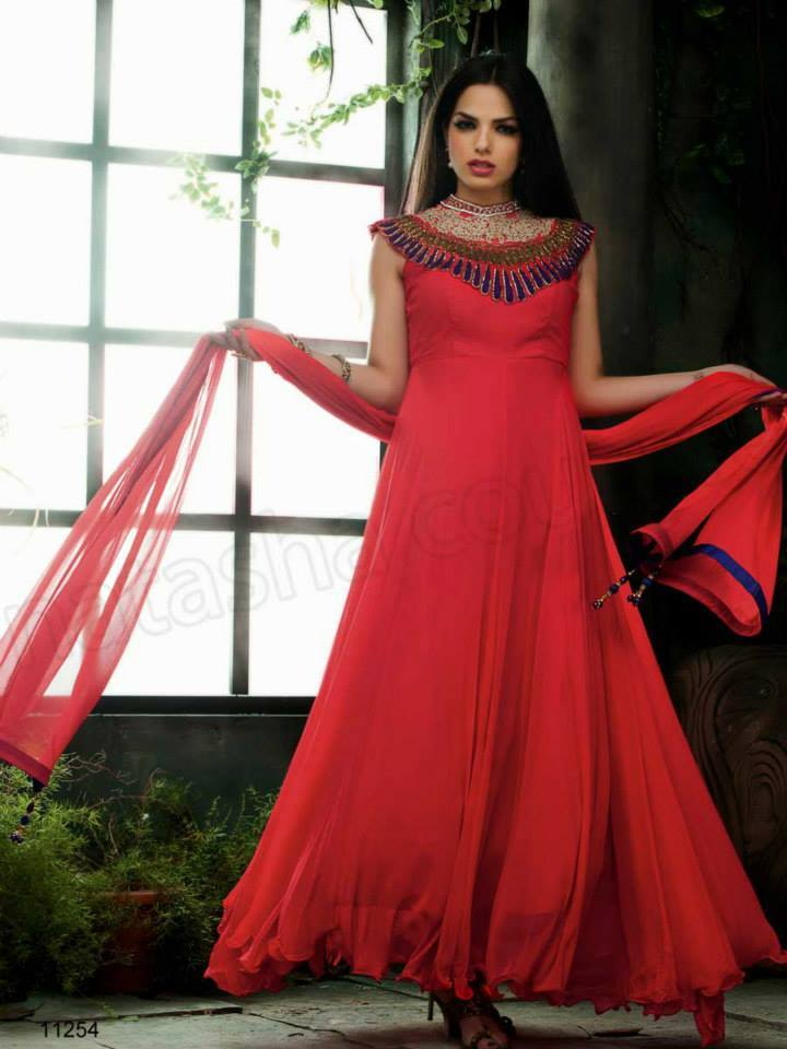Indian fashion Latest Anarkali Suits Collection 2015 by Natasha Couture   (5) - Copy