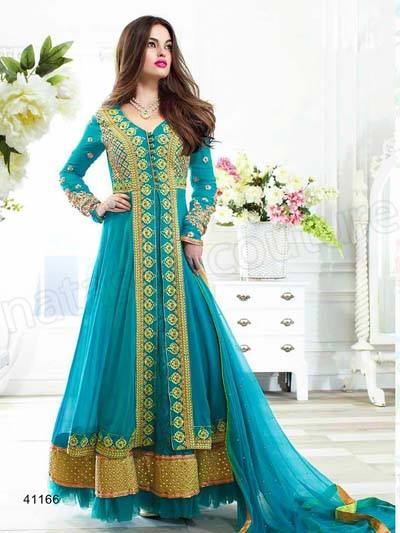 Indian fashion Latest Anarkali Suits Collection 2015 by Natasha Couture (9) - Copy