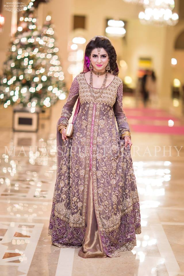 Pakistani long dresses 2018 images