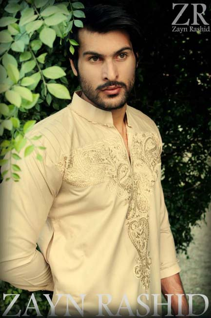 Mehndi For Gents : Men mehndi dresses designs kurta collection