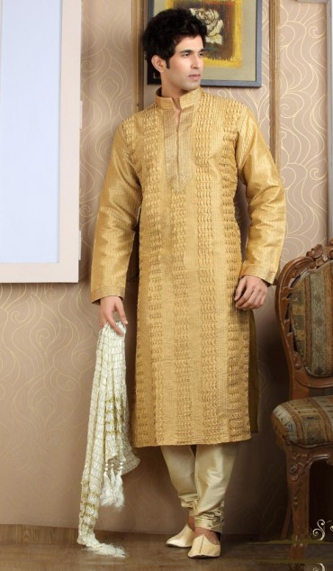 Mehndi Clothes Male : Men mehndi dresses designs kurta collection