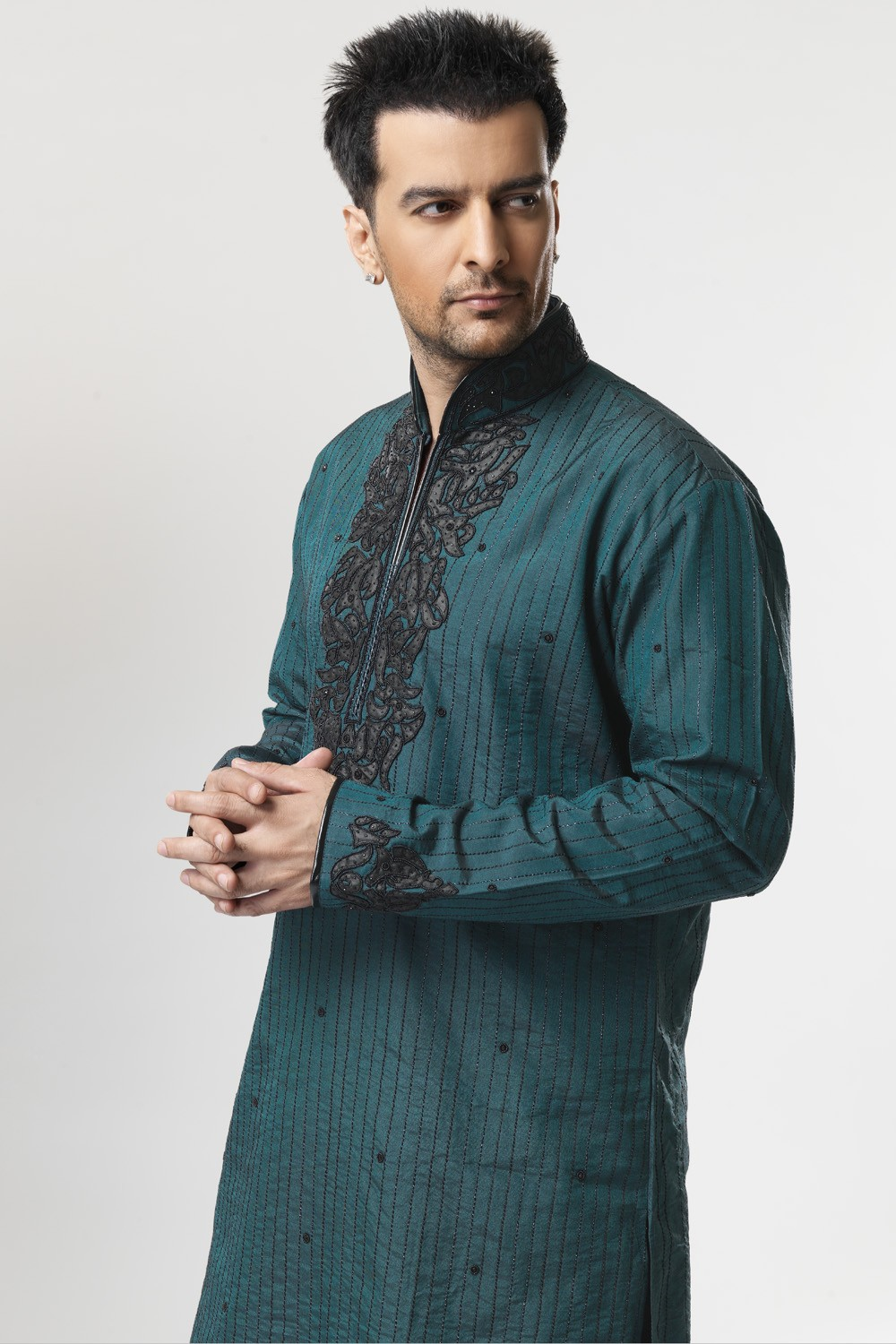 Mehndi Mens Clothes : Men mehndi dresses designs kurta collection