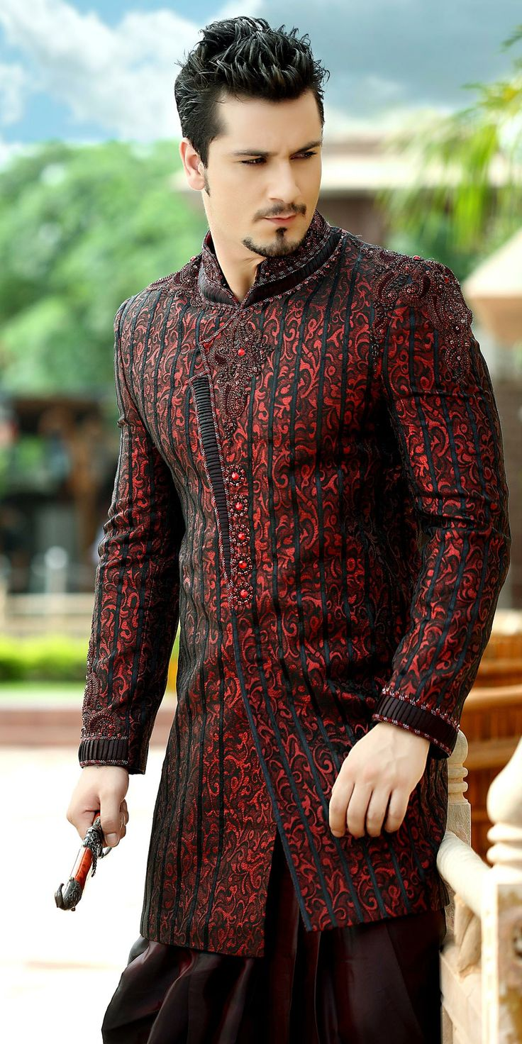 Men Mehndi Dresses Designs Kurta Collection 2015-2016