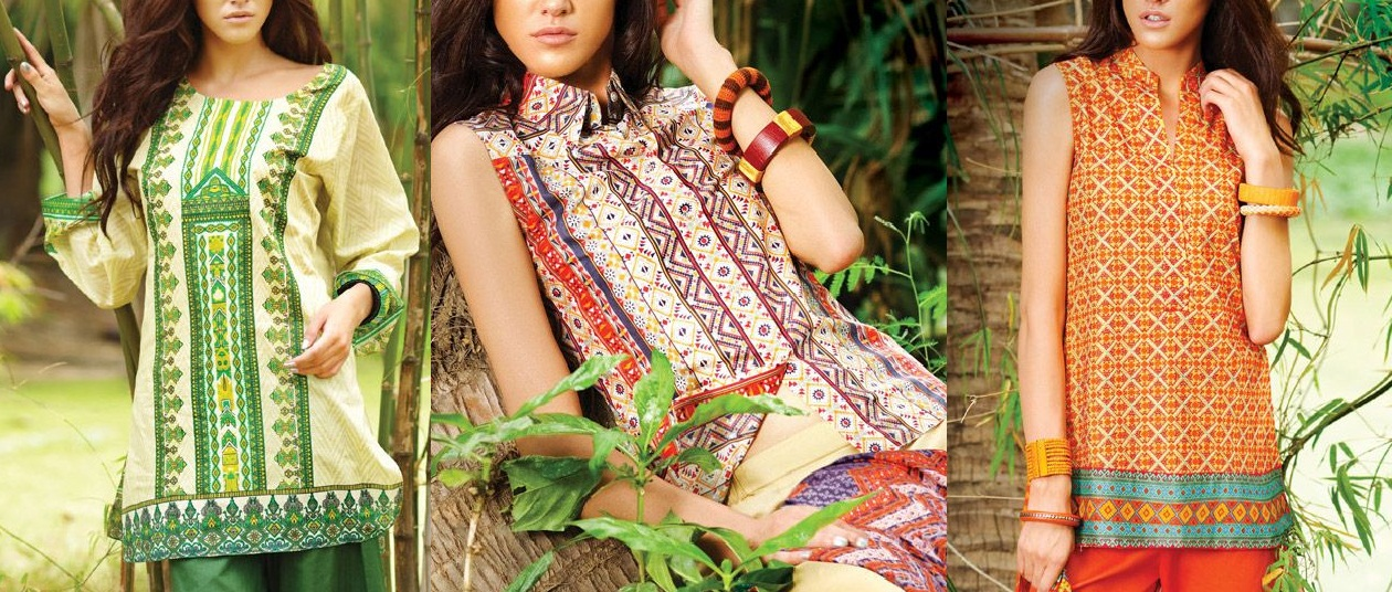 Summer lawn kurti designs collection 2016 2017 for New styles and trends