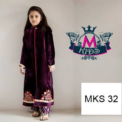 MARIA. B Latest Kids Wear Dresses New Designs Collection 2015-2016 (10)