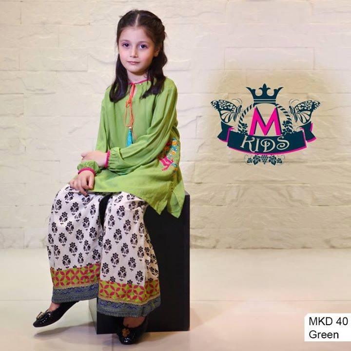MARIA. B Latest Kids Wear Dresses New Designs Collection 2015-2016 (11)