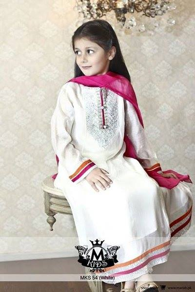 MARIA. B Latest Kids Wear Dresses New Designs Collection 2015-2016 (13)