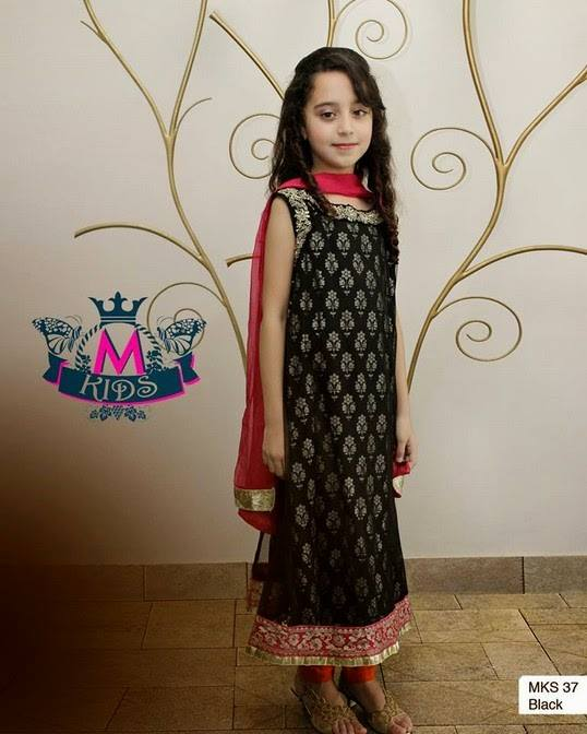 MARIA. B Latest Kids Wear Dresses New Designs Collection 2015-2016 (14)