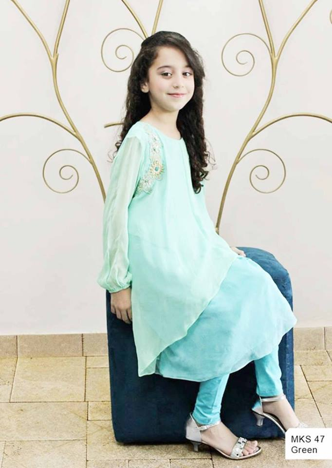 MARIA. B Latest Kids Wear Dresses New Designs Collection 2015-2016 (17)