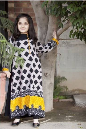 MARIA. B Latest Kids Wear Dresses New Designs Collection 2015-2016 (18)