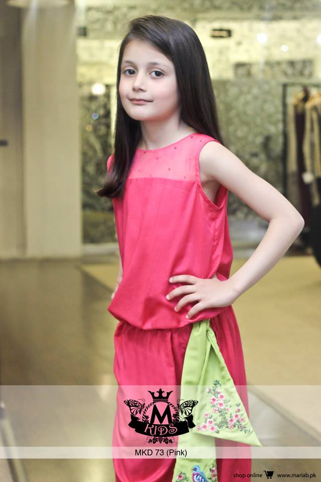 MARIA. B Latest Kids Wear Dresses New Designs Collection 2015-2016 (6)