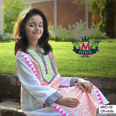 MARIA. B Latest Kids Wear Dresses New Designs Collection 2015-2016 (9)