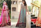 Pakistani & Indian Fashion Bridal Wedding Gowns Designs Collection 2015-2016