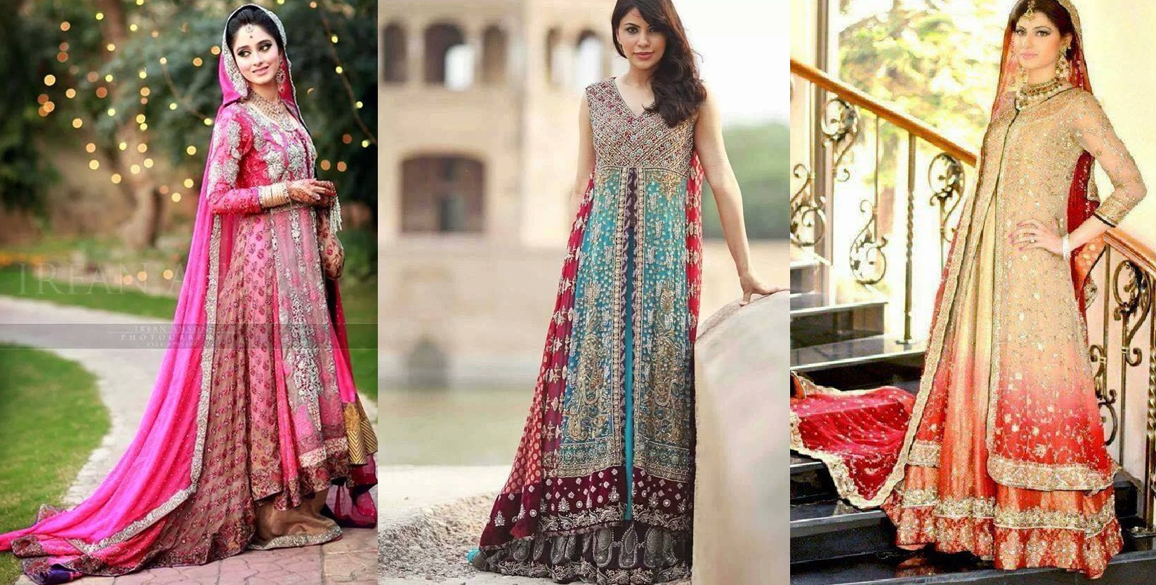 fc3d567f4 Pakistani   Indian Fashion Bridal Wedding Gowns Designs Collection ...