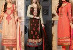 Pakistani & Indian Straight Cut Dresses Collection 2015-2016