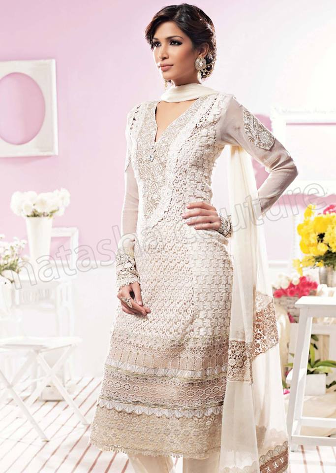Pakistani & Indian Straight Cut Dresses Collection 2015-2016 (28)