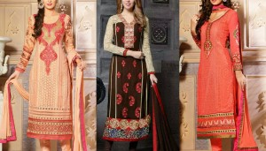 Latest Straight Cut Salwar Kameez Suits Collection 2016-2017