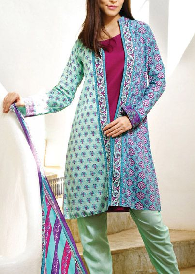Trends of Summer Lawn Kurtis Designs Collection for Women 2015-2016 (1)