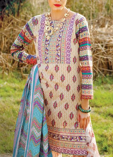 Trends of Summer Lawn Kurtis Designs Collection for Women 2015-2016 (3)