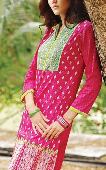 Trends of Summer Lawn Kurtis Designs Collection for Women 2015-2016 (4)