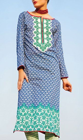 Trends of Summer Lawn Kurtis Designs Collection for Women 2015-2016 (5)